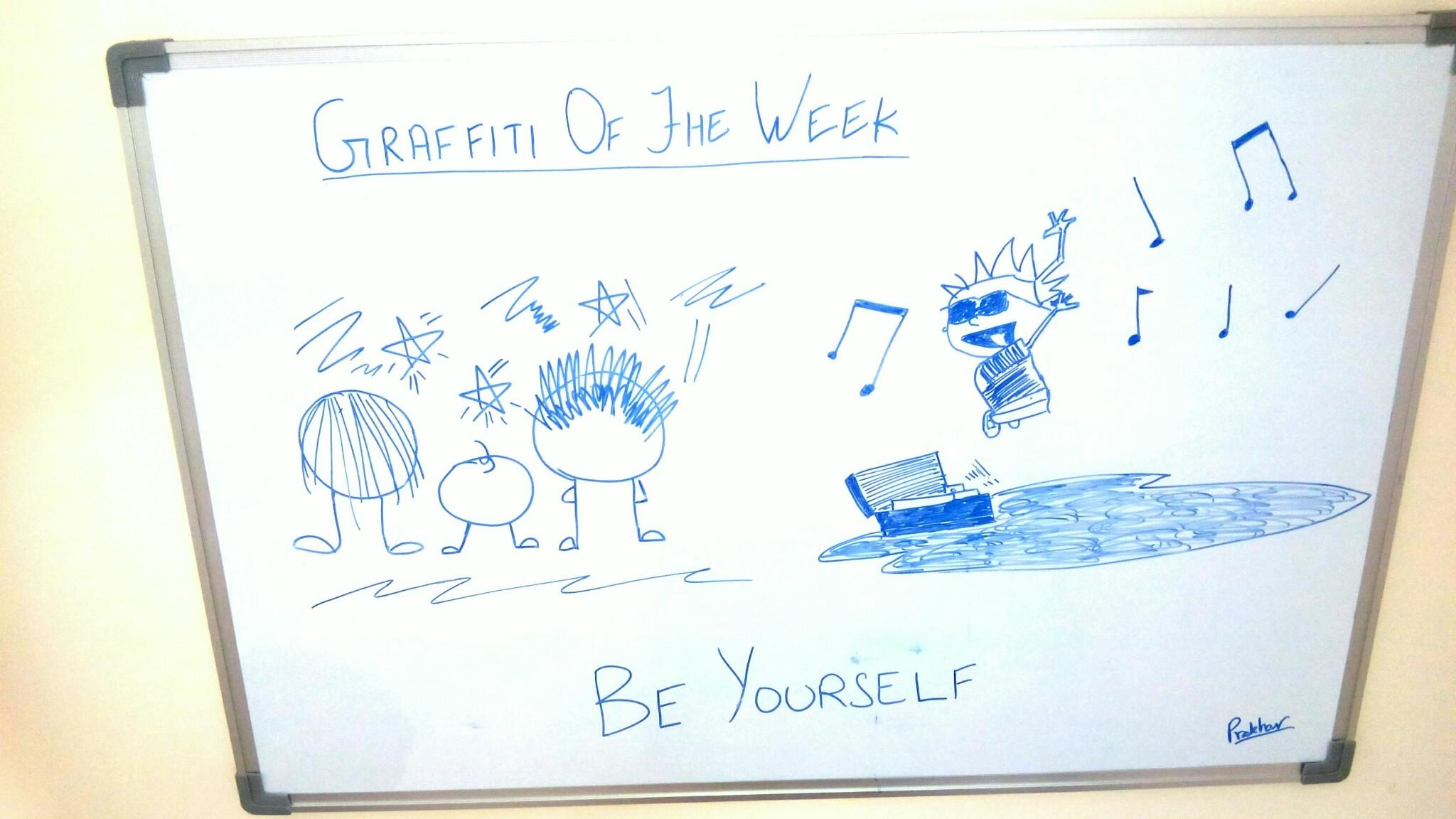 Be Yourself Graffiti